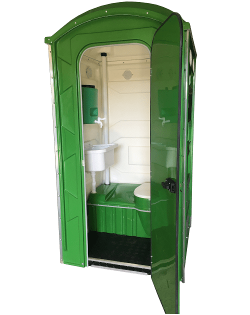 Toaleta przenośna zumywalką